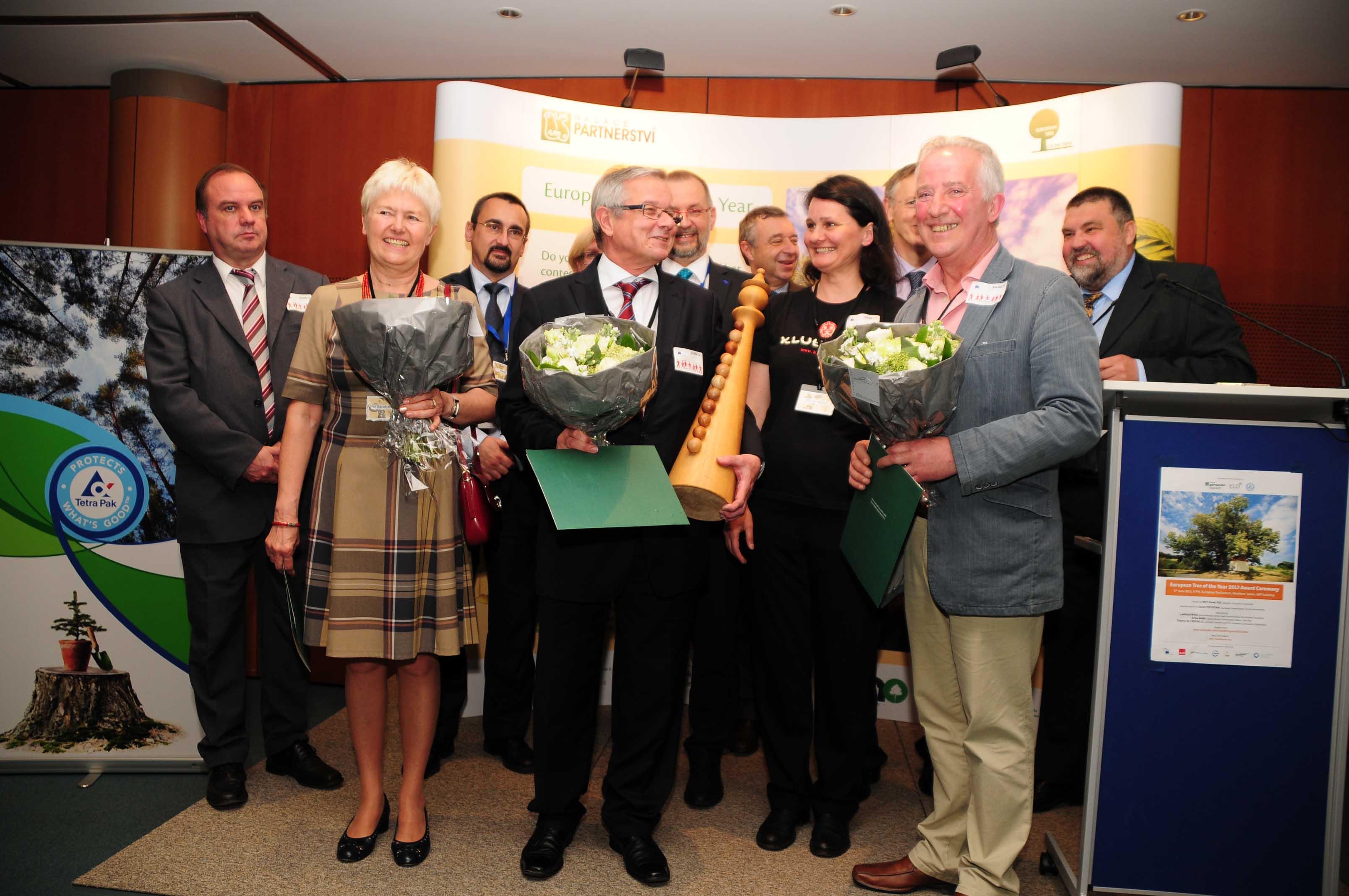 uroczystość wręczenia nagród i dyplomów w Brukseli