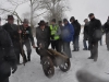 Bractwo Kurkowe w galowych mundurach uświetniło wizytę Tree Hunter'a ....