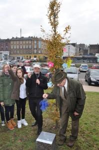 Inauguracja Święto Drzewa  -CINIBA 2014