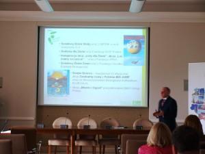 Prezentacja działań Klubu Gaja w ramach Partnerstwa dla Klimatu.