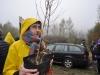 Sadzenie drzew z Dvines Polska. Wapienica. Bielsko-Biała. 3.04.2016.