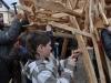 Uczniowie i wychowawcy ZS nr 1 razem budowali Pegaza